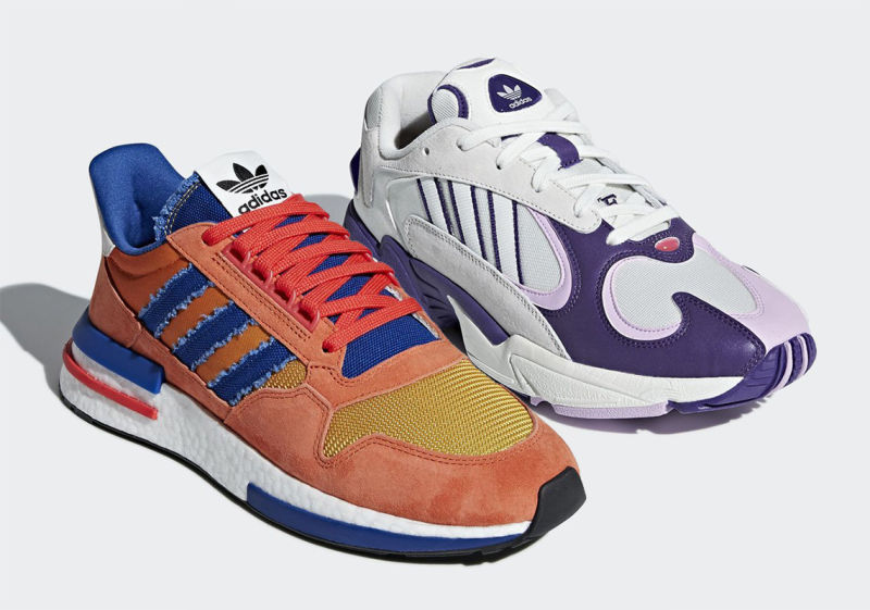 Adidas' First Two Dragon Ball Sneakers